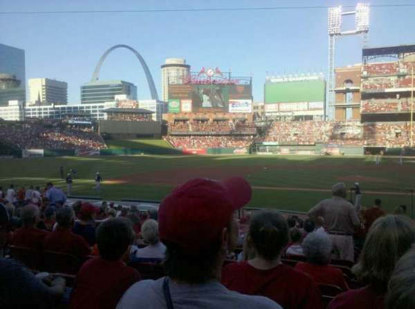 Busch Stadium, section: 154, row: 9, seat: 6