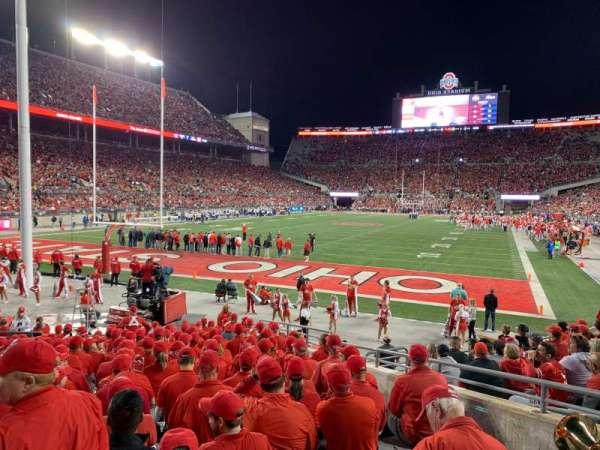 Ohio Stadium, section: 7AA, row: 11, seat: 8
