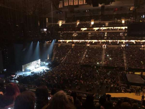 American Airlines Center, section: 217, row: G, seat: 10