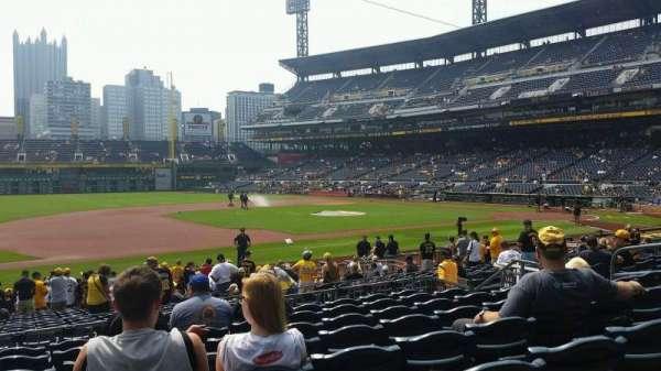PNC Park, section: 125, row: H, seat: 12