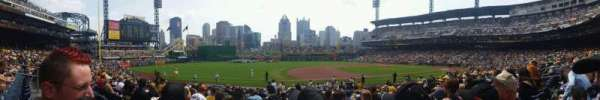 PNC Park, section: 125, row: h, seat: 12