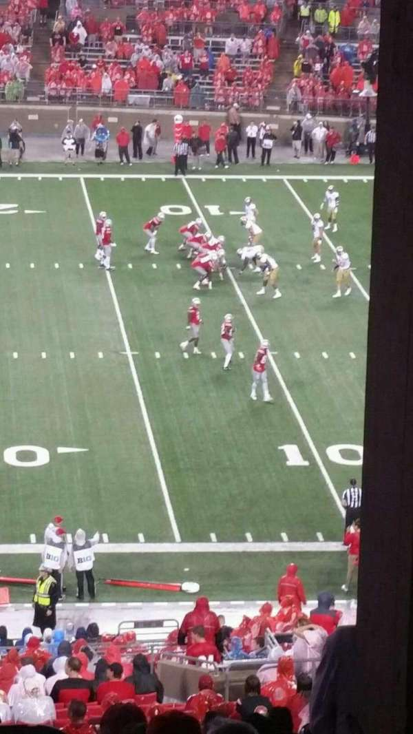 Ohio Stadium, section: 16B, row: 7, seat: 27
