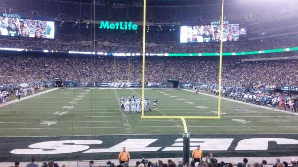 Metlife Stadium, section: 101, row: 17, seat: 24