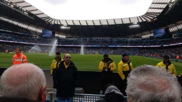 Etihad Stadium (Manchester), section: 113, row: C, seat: 337