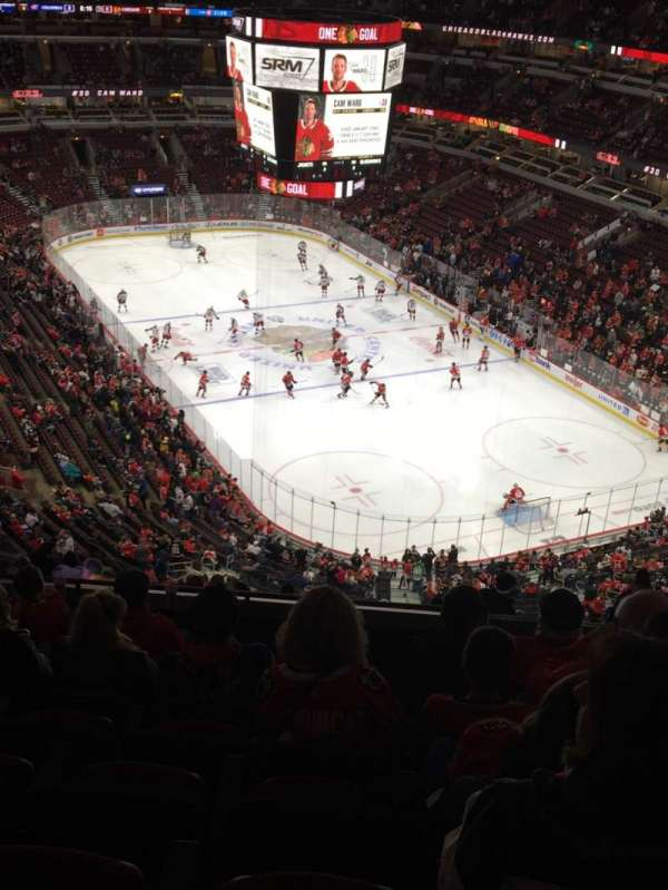 United Center, section: 312, row: 15, seat: 3