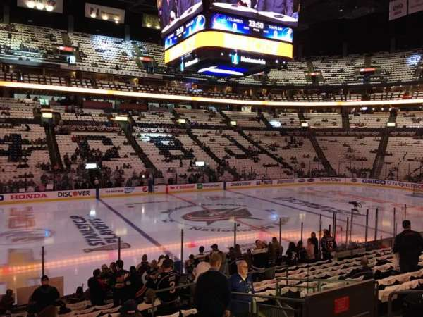 Nationwide Arena, section: 116, row: R, seat: 8