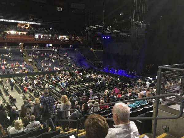 Nationwide Arena, section: 105, row: Y, seat: 3