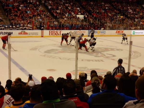 BB&T Center, section: 119, row: 10, seat: 14
