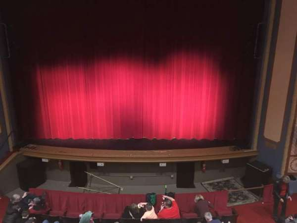 Peoples Bank Theatre, section: Mezzanine, row: AA, seat: 102
