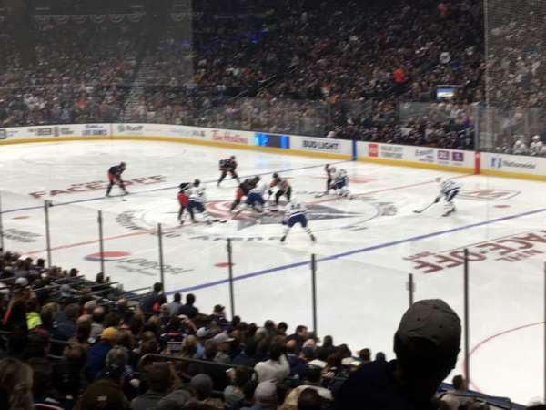 Nationwide Arena, section: 112, row: W, seat: 5