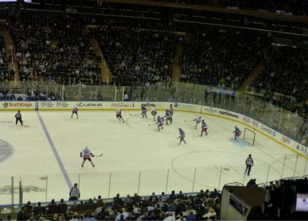 Madison Square Garden, section: 224, row: 3, seat: 7
