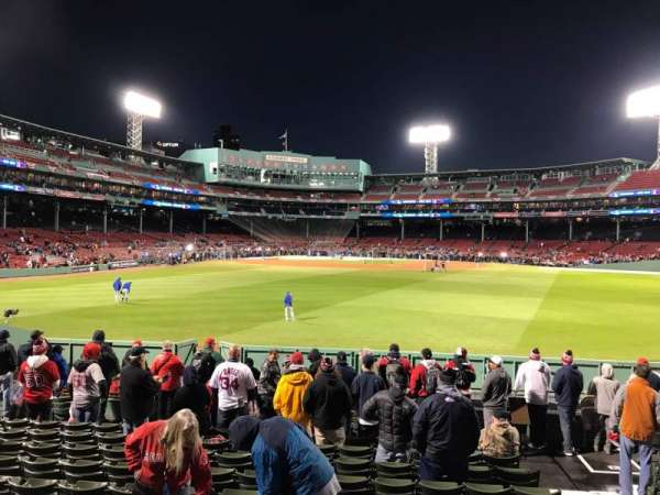 Fenway Park, section: Bleacher 41, row: 14, seat: 1