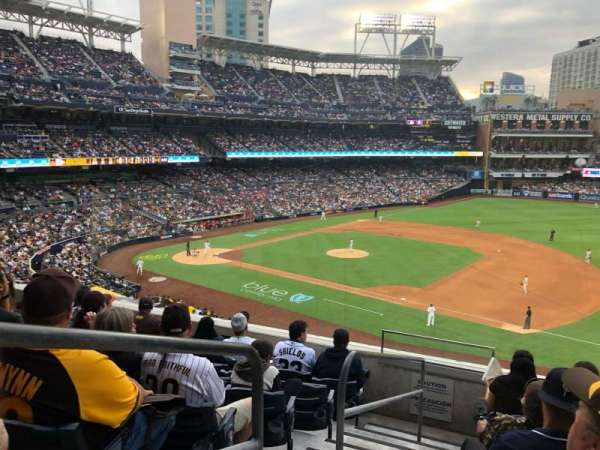PETCO Park, section: 213, row: 6, seat: 3
