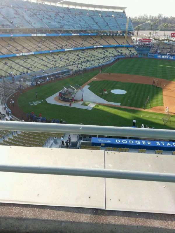 Dodger Stadium, section: 16RS, row: b, seat: 11