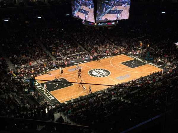 Barclays Center, section: 227, row: 5, seat: 4