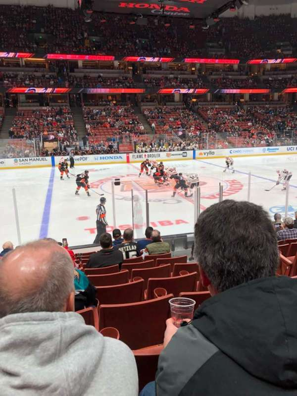 Honda Center, section: 223, row: L, seat: 4
