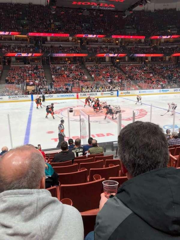 Honda Center, section: 223, row: L, seat: 4