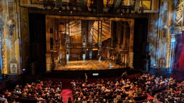 Hollywood Pantages Theatre, section: Mezzanine LC, row: A, seat: 301
