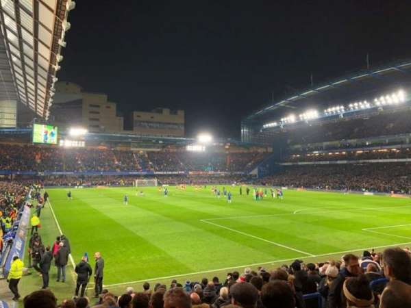 Stamford Bridge, section: Matthew Harding Lower 15, row: T, seat: 158