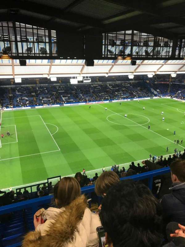 Stamford Bridge, section: East Stand Upper 1, row: 28, seat: 183