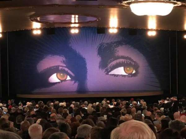 Lunt-Fontanne Theatre, section: Orchestra C, row: XX, seat: 111