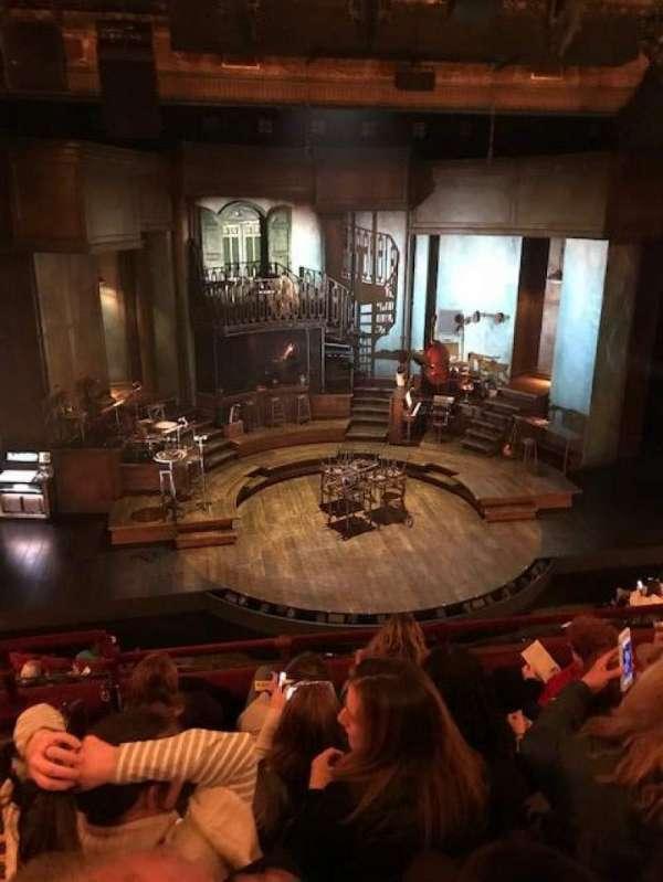 Walter Kerr Theatre, section: Mezzanine C, row: E, seat: 114