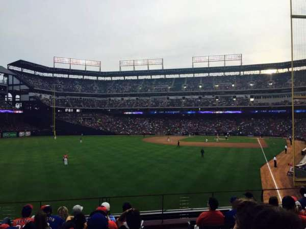 Globe Life Park in Arlington, section: 7, row: 6, seat: 1