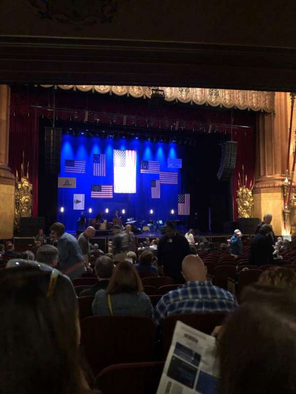 Beacon Theatre, section: ORCH, row: T, seat: 7