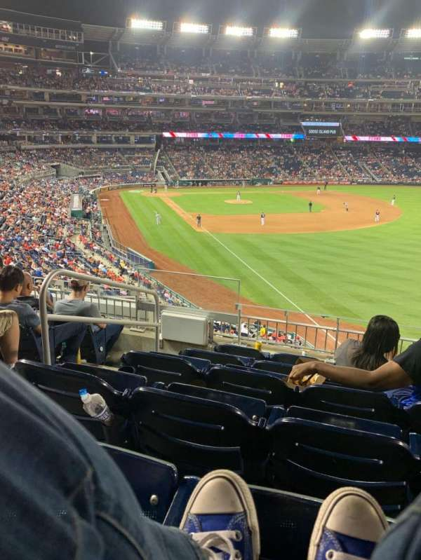 Nationals Park, section: 233, row: F, seat: 17