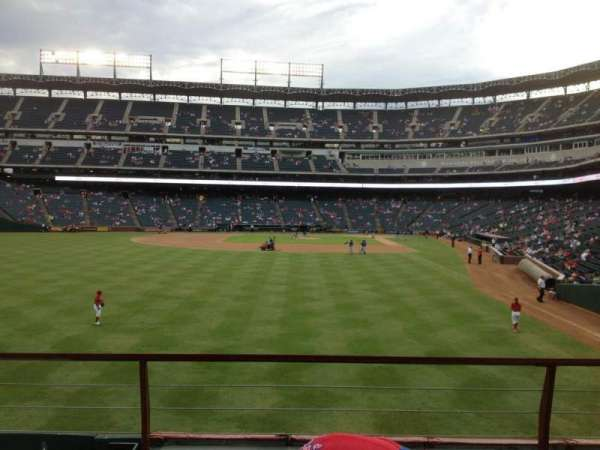 Globe Life Park in Arlington, section: 7, row: 3, seat: 5