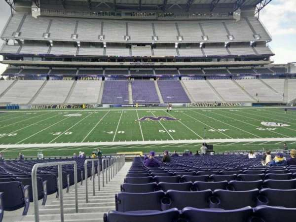 Husky Stadium, section: 129, row: 27, seat: 27