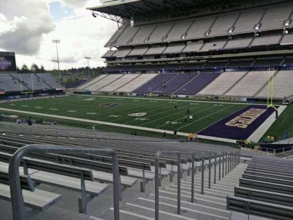 Husky Stadium, section: 124, row: 41, seat: 25