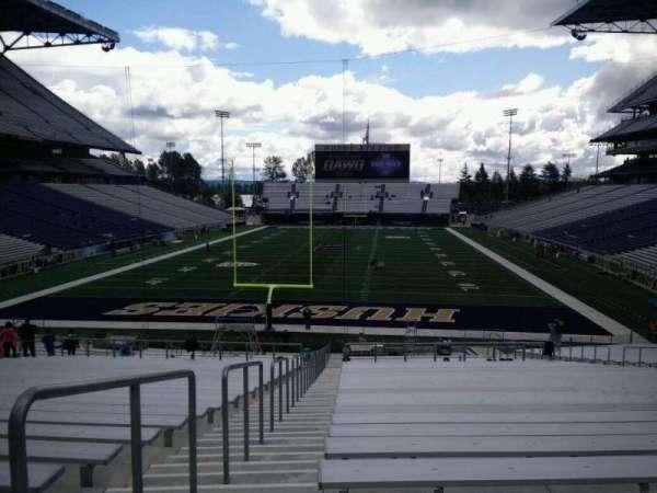 Husky Stadium, section: 117, row: 35, seat: 25