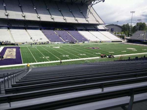 Husky Stadium, section: 109, row: 40, seat: 25