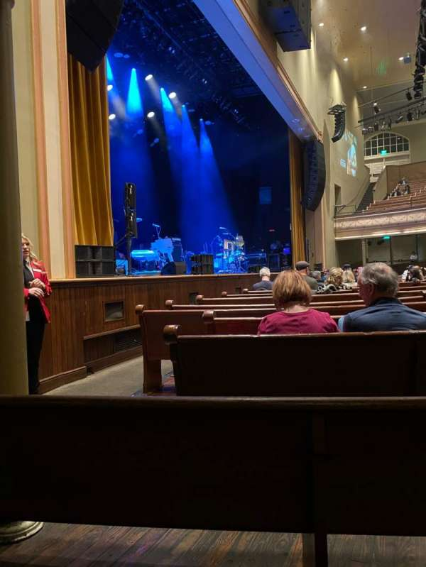 Ryman Auditorium, section: MF-8, row: N, seat: 5-6