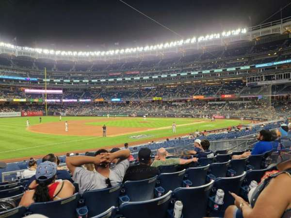 Yankee Stadium, section: 127b, row: 8, seat: 13