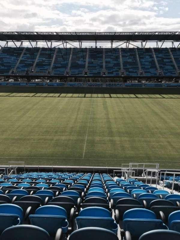 Avaya Stadium, section: 106, row: 18, seat: 4