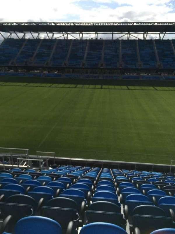 Avaya Stadium, section: 107, row: 15, seat: 8
