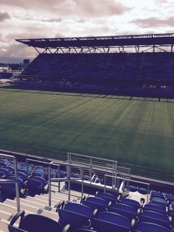 Avaya Stadium, section: 109, row: 12, seat: 14