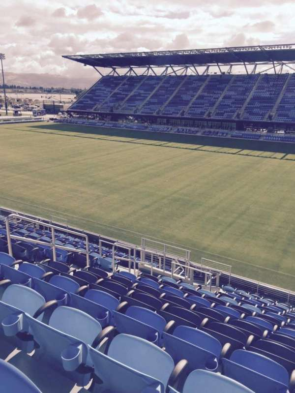Avaya Stadium, section: 111, row: 15, seat: 9