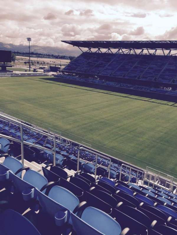 Avaya Stadium, section: 112, row: 19, seat: 29