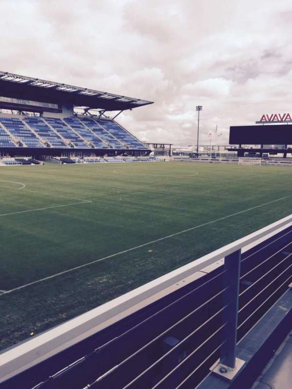 Avaya Stadium, section: 123, row: 7, seat: 14