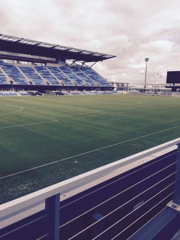 Avaya Stadium, section: 124, row: 7, seat: 6