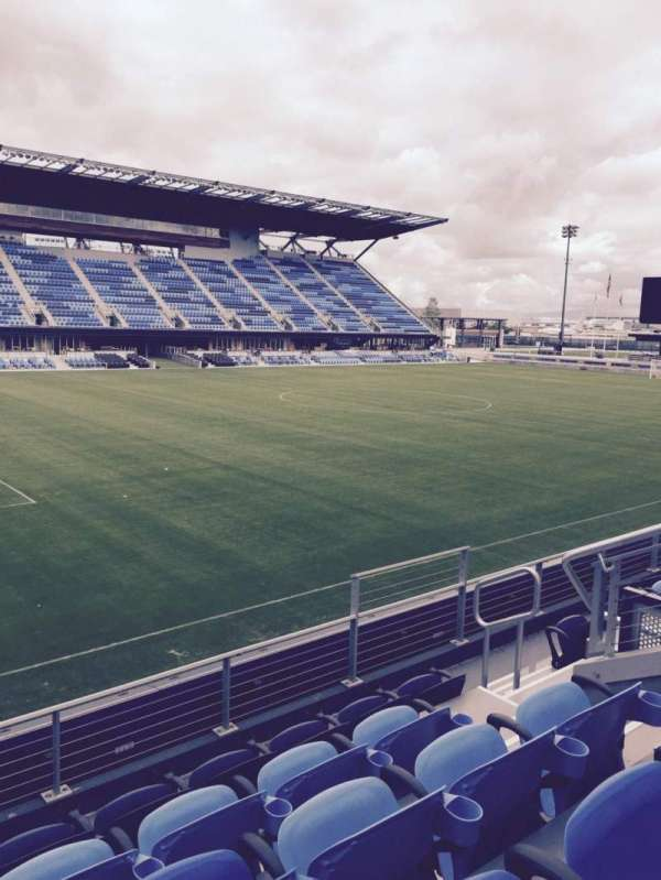 Avaya Stadium, section: 124, row: 5, seat: 8
