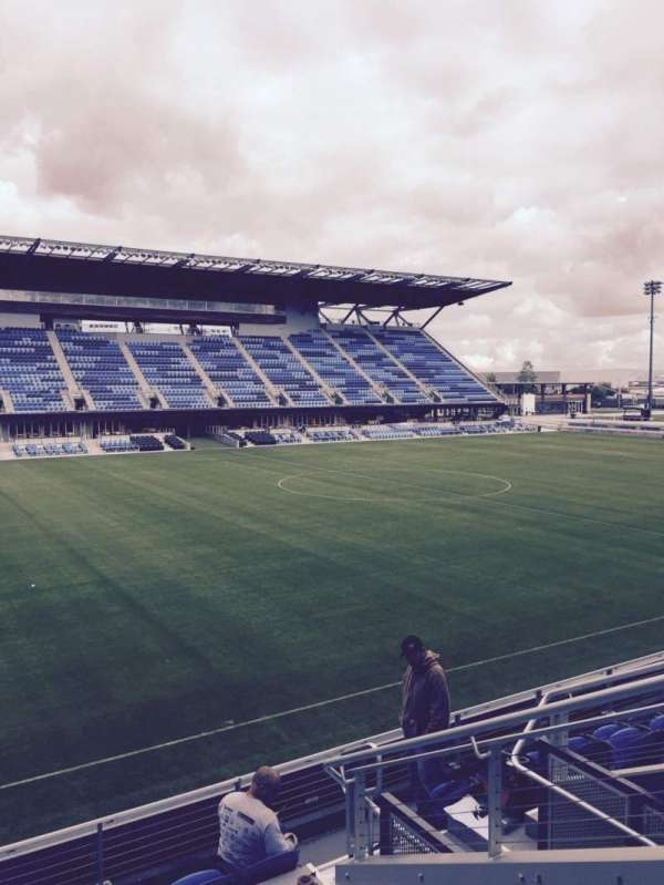 Avaya Stadium, section: 125, row: 7, seat: 6