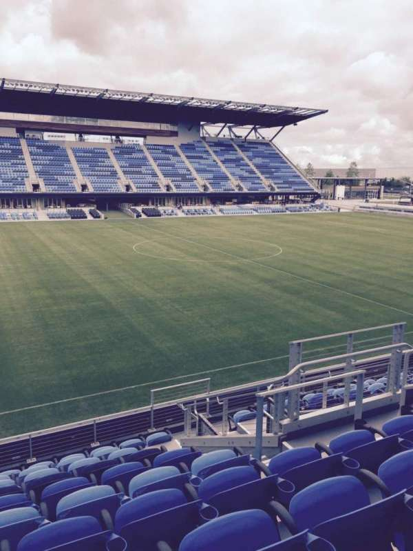 Avaya Stadium, section: 126, row: 10, seat: 7