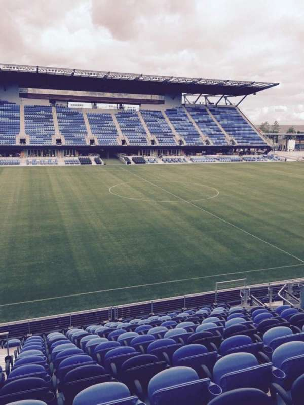 Avaya Stadium, section: 127, row: 13, seat: 12