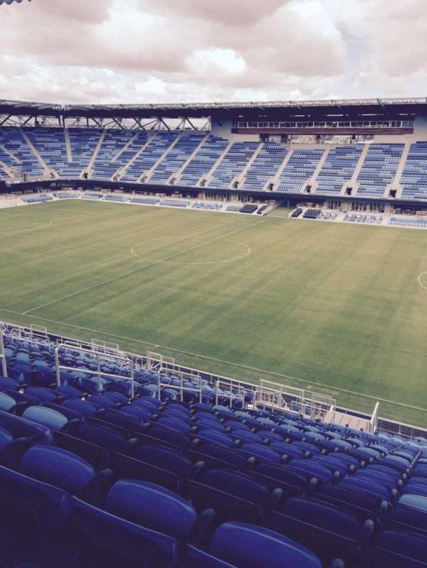 Avaya Stadium, section: 133, row: 25, seat: 8