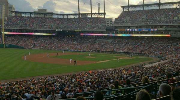 Comerica Park, section: 140, row: F, seat: 5