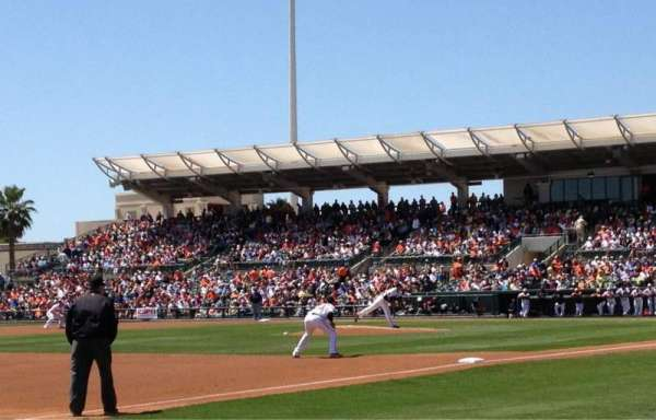 Ed Smith Stadium, section: 123, row: 5, seat: 3